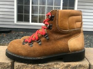 Men's Honchos Vintage Suede Hiking Mountaineering Boots Size 8