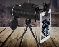 Day Night Vision 40x60 Travel HD Dual Focus Optical Prism Monocular Telescope