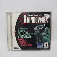 Tom Clancy's Rainbow Six w/ eagle watch   Sega Dreamcast   Complete CIB