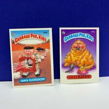 Garbage Pail Kids topps imperial trading cards 1986 Catty Kathy Gored Gordon vtg