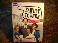 FAWLTY TOWERS:COMPLETE:SERIES 1 & 2.DIG REMAST.3 DISCS. NEW/SEALED. 1975-8.DVD