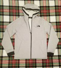 The North Face Full Zip Hoodie Sweater (Men's Size M) Light Heather Gray .jf10
