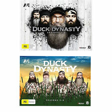 Duck Dynasty Complete Seasons 1, 2, 3, 4, 5, 6, 7 & 8 DVD Box Set R4 SALE