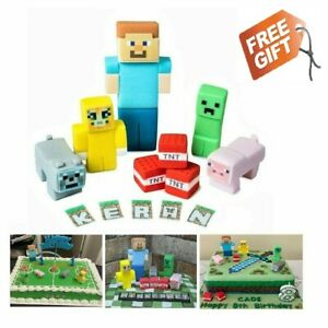 game cake toppers EDIBLE decoration personalised birthday unofficial icing
