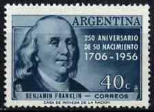 Argentina 1956 SG#899 Benjamin Franklin MNH #D32994