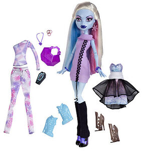Monster High Abbey Bominable ICH LIEBE MODE I heart Fashion OVP X4492