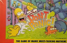 The Simpsons Don't Panic Board Game (2005) Parts & Pieces only - You Choose