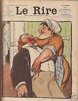 1905 Le Rire July 15- French Humor - Roubille; Meunier