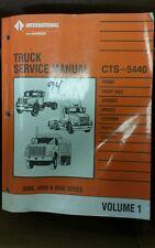 International Truck Service Manual CTS-5440 Vol 1 1991