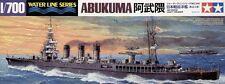 KIT TAMIYA 1:700 NAVE DA GUERRA JAPANESE LIGHT CRUISER ABUKUMA  ART 31349