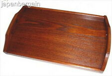 Japanese Wooden Bento Serving Tray Tea Tray 17x10 S-1608
