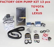 NEW TOYOTA / LEXUS COMPLETE OEM TIMING BELT WATER PUMP KIT 3.0L1MZFE V6 ENGINES