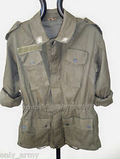 Womens Military Combat Jacket Ladies Italian Army Jacket Small Urban Fashion