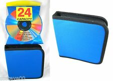 cd / dvd / storage case wallet holder for x24 discs