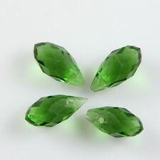Pendants 10 Pcs Swaro/vski 6*12mm Teardrop Crystal beads B grass-green