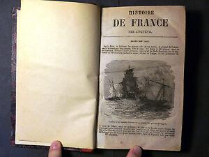 Livre Histoire de FRANCE jusqu'au 1789. Par Anquetil. Tome 6°. Paris 1862
