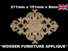 SHABBY CHIC WOODEN DECORATIVE FURNITURE VINTAGE APPLIQUES MOULDING ONLAY DOOR