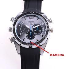 FullHD Watch Spycam Videocamera Nascosta Mini piccola tono video sorveglianza immagine a88