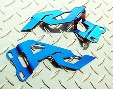 Yamaha 2002-06 R1 Blue Heel Guards / Ankle Plates YZF-R1 2006 2005 2004 2003