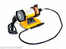 "3"" Mini Bench Grinder With Rotary Flexible Shaft Die Carving polisher set"