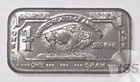 Fine 999 Titanium Ingot 1 Gram Pure Buffalo Bar