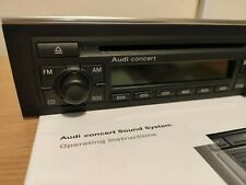 Audi A4 B6 B7 2001-2008 Concert Cd Player With Code Manual 8E0 035 186