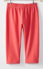 NEW Hanna Andersson Girls Solid Red Capri Leggings 140 CM  10 Year NWT Girl