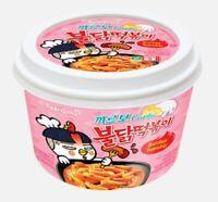 Samyang Carbo Buldak topokki Hot Spicy Chicken Flavor Rice Cake Topokki 2 PACK