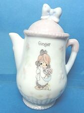 """ENESCO Precious Moments """"Ginger"""" Spice Jar Canister  FREE SHIPPING"""