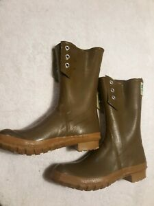 VINTAGE CONVERSE  THERMO RUBBER BOOTS SIZE  8 LACE UP FISHING WADING - NEW NOTE