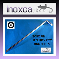 """1 @ T10 TX10 TORX PIN SECURITY HEXAGONAL BITS 1//4/"""" HEX DRIVE WITH HOLE FOR PIN"""
