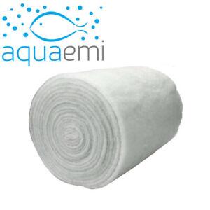 Filter Floss Cotton Poly Wool Media Water Pad Roll Aquarium Fish Tank Pond 100cm