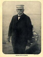 Graf von Zeppelin (Adelsfamilie) zum Hause Historical Memorabilia von 1908