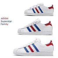 adidas Originals Superstar vs. Americana USA White Red Men Women Kid Baby Pick 1