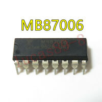 1PCS MB87006A MB87006 CMOS PLL FREQUENCY SYNTHESIZER SOP16