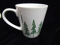 Starbucks Original 2015 GREEN TREE Design 9.63 fl oz Coffee Mug Cup