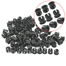 100Pcs Practical 5mm Plastic LED Clip Holders Case Cup Mounting Bezels Black