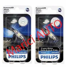 Philips 30mm LED 6000k Xenon Bright WHITE DE3175 Light bulb DOME Super Interior