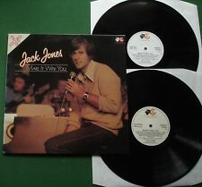 Jack Jones Make It With You inc The Look Of Love / Light My Fire + CR 072 2 x LP