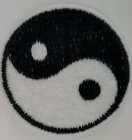 Ying and Yang Iron on transfer Patch Brand New Sew on Patch fancy dress