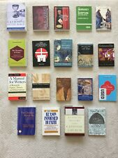 Used Seminary textbooks on Catholicism, the Roman Church, Jesus and Christianity