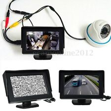 "HD 4.3"" LCD Vidéo Ecran Sécurité Moniteur Tester Test CCTV Caméra FPV DVD TV"