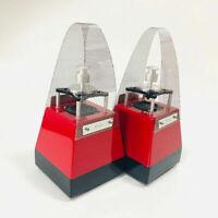Qinpu S-1 S1 360° Mini Hi-Fi Audio Speakers Loudspeakers Pair Red