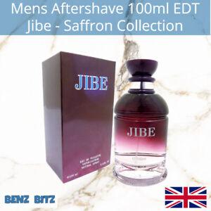 Jibe Mens Aftershave By Saffron 100ml EDT Eau De Toilette Spray