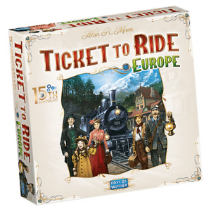 PREORDER Ticket to Ride Europe 15th Anniversary Edition