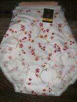 Secret Treasures ~ Women's Brief Underwear Panties 3-Pair Cotton ~ Choose Size