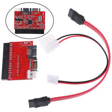 1Set IDE to SATA PCI Card 100/133 Serial HDD/CD/DVD Converter Adapter+Ca QA