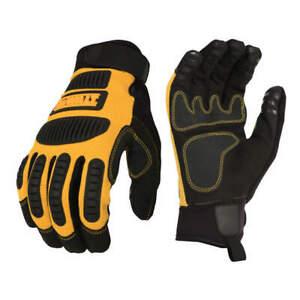DeWalt DPG780 Performance Mechanics Work Gloves Yellow / Black - MED, LG or XL