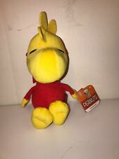 "Peanuts HALLOWEEN WOODSTOCK IN DEVIL COSTUME 7"" Plush STUFFED ANIMAL Toy"