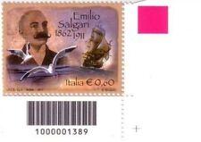 1389 CODICE A BARRE LATO SOTTO DESTRO E Salgari 0.60 ANNO 2011